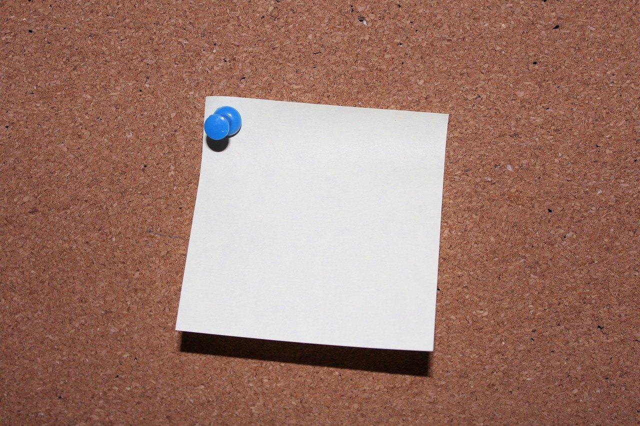 list, pin, post it-1143031.jpg